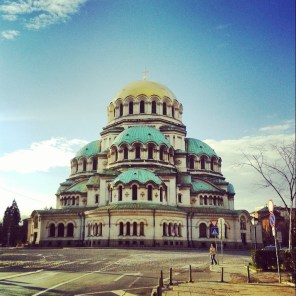 St. Alexander Nevsky Cathedral in Sofia. The cathedral in one of the largest Eastern Orthodox cathedrals in the world.